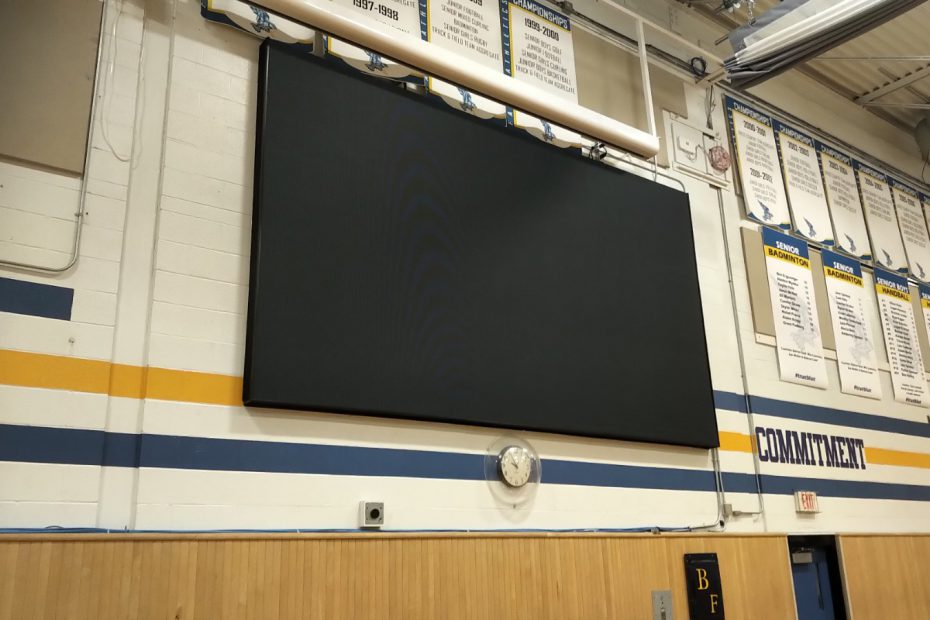 School LED screen 2019b